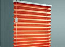 cordlock pleated blinds