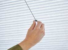 smartcord duette blinds with retractable cord