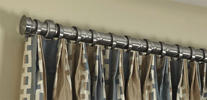 qmotion motorised drapery curtain pole in brighton hove. Black Bedroom Furniture Sets. Home Design Ideas