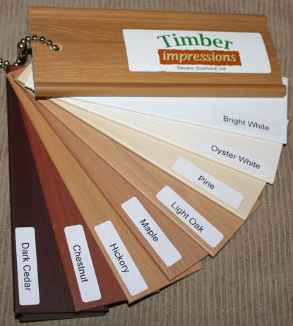 timber impressions swatch