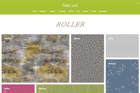 fabric box catalogue