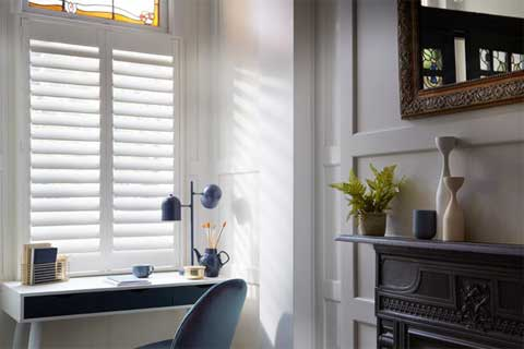 cafe style shutters from brite blinds hove