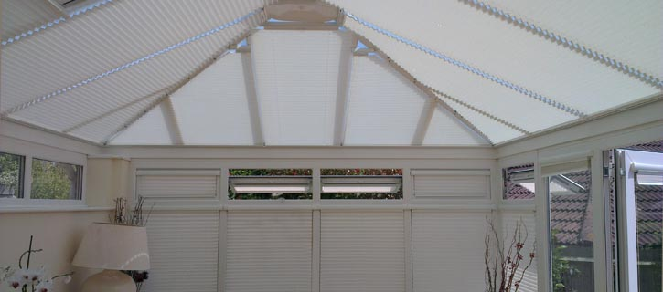 INTU Conservatory blinds