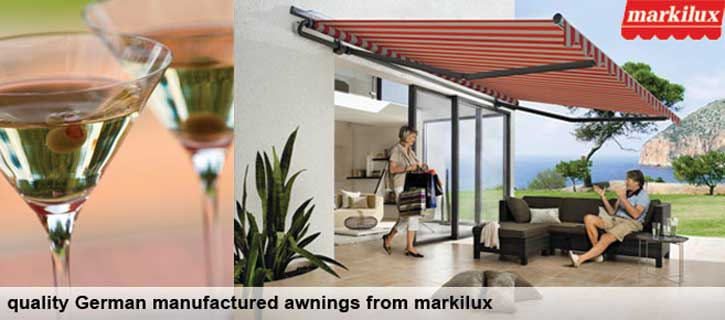 Markilux awnings from brite blinds visit our dedicated website