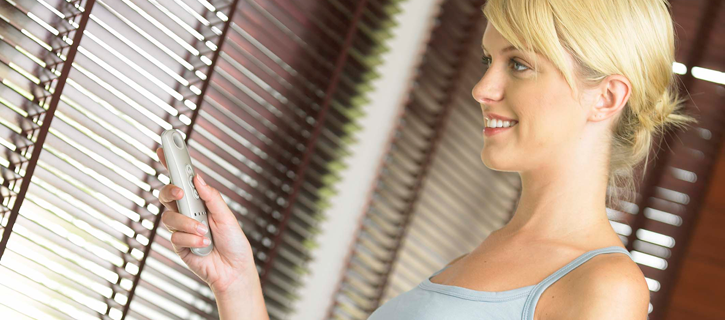 Modulis handsets for venetian electric blinds