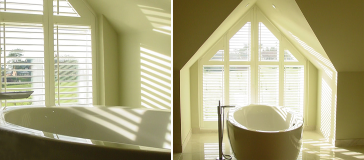 Hollywood ABS waterproof shutters from brite blinds
