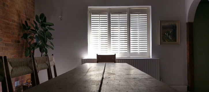 Full Height Shutters in period property